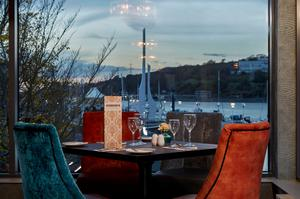 The view from Hobson's at The Tower Hotel, Waterford
