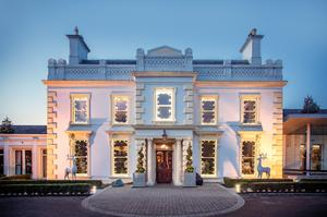 Check into the Galgorm in Co Antrim and you can take full advantage of the spa, before dedicating yourself to the Christmas indulgences the following day