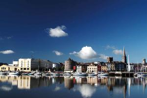 Waterford City and the River Suir.