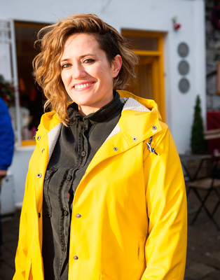 Sheena Dignam of Galway Food Tours. Photo: Andrew Downes, xposure