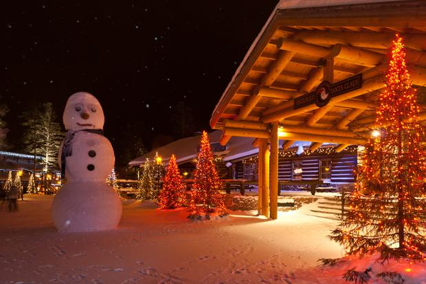 Santa's Village started as a single log cabin, hastily built for the visit of Eleanor Roosevelt near the capital of Lapland, Rovaniemi back in 1950 and has since expanded with its own post office