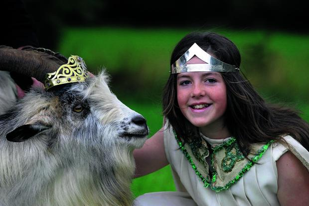 King Puck presides over three days of free family entertainment including fireworks, workshops, storytelling, music night and day and the famous Horse Fair.