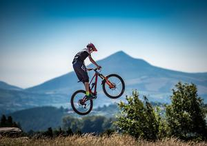 The Gap: Take to the trails in the Dublin Mountains. Photo: Adrian Van Der Lee