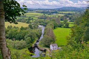 Kayak down the great River Barrow in Co Carlow