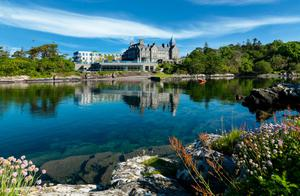 Parknasilla's grand 18th-century manor house and its ultra-modern annexe sits on 500 acres along Kenmare Bay