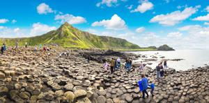 The Giant's Causeway in Co Antrim