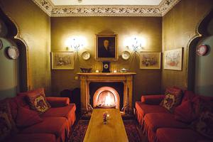 Cosy sofas at Rathmullan House