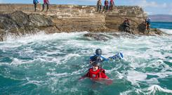 Coasteering in Clare