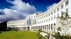 Palladian mansion: Powerscourt Hotel