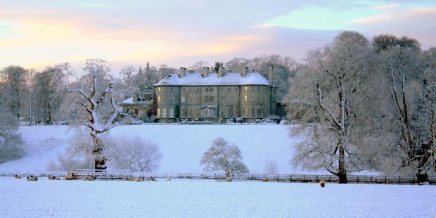 White Christmas: Mount Juliet Estate in Kilkenny.