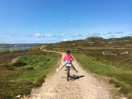 July: Inishbofin, Co. Galway by Alison Dillon. Photo with thanks to Trident Holiday Homes.