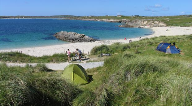'Rugged Connemara diamond': Clifden camping
