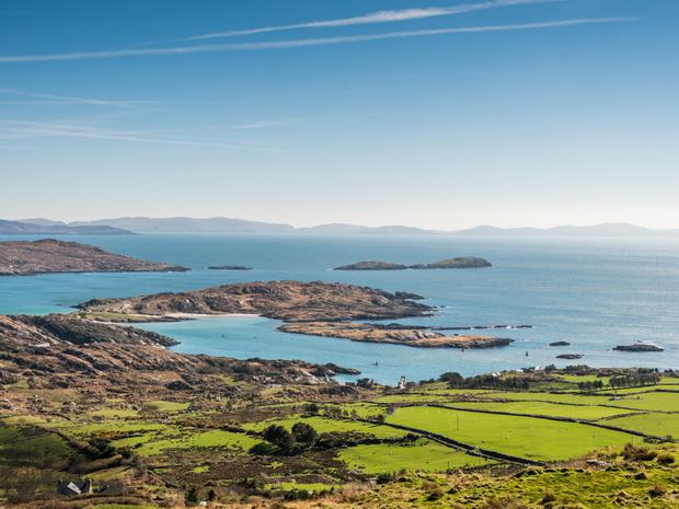 Just one view from the Ring of Kerry to the Atlantic. Don't worry, there are plenty more...