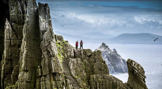 'Mouthwatering outpost': Skellig Michael