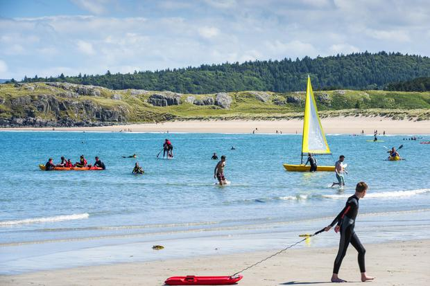 Dunfanaghy beach in Donegal