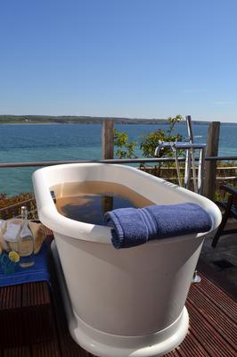 Seaweed baths at the Wellness Spa in the Cliff House Hotel in Ardmore, Co Waterford