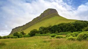 Ben Bulben's distinctive summit
