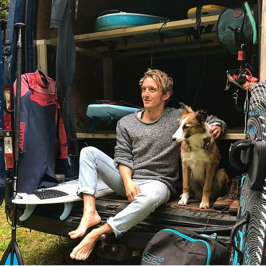 Kris Goodbody is the co-founder of the adventure company Big Style (bigstyle.ie), and lives near its Atlantic Lodge in Killadoon