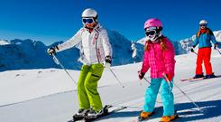 Child's play: The younger kids start skiing, the quicker they pick it up