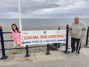 Sandra Kiernan spent her entire summer in her family home in Bray, 'camping most nights and daily trips to the beach... '