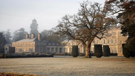 Carton House in Co Kildare is a wonderful place to spend the festive season
