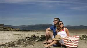 Irish people flocked to local beaches during the summer and are likely to do so again. Photo: David Conachy