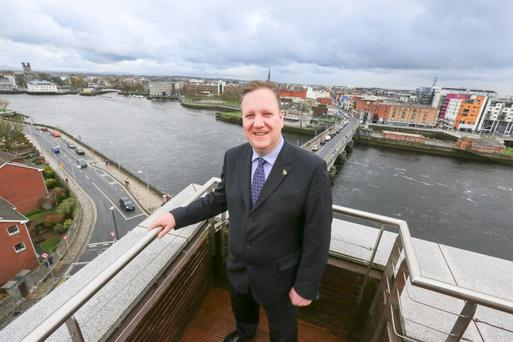 LIMERICK, YOU'RE A LADY: Sean Lally, General Manager of the Strand Hotel Limerick. Photo: Brian Gavin