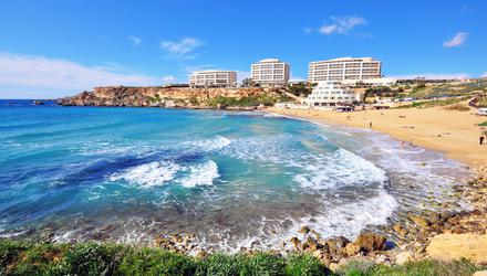 Golden Beach, Malta. Photo: Deposit