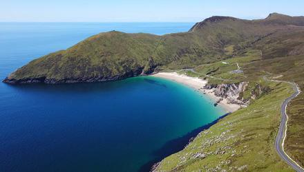 Keem Bay is one of two Achill Island beaches to make Lonely Planet's Top 10.