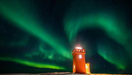 The Northern Lights in Iceland is a stunning spectacle. Photo: Martial Trezzini/Keystone