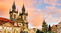 Prague: ideal destination for a Christmas market.