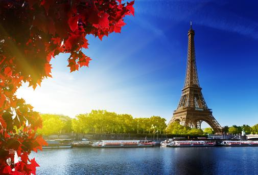 Always popular: Paris
