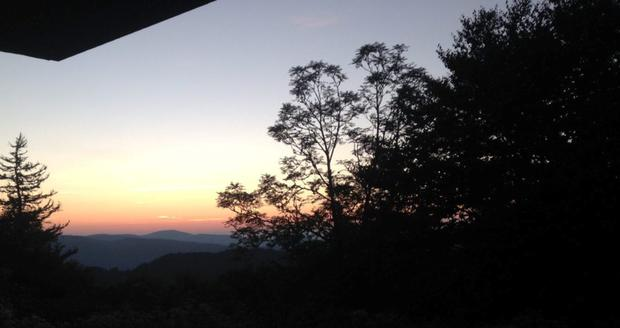 Dawn in the Appalachians