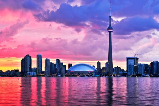 The CN Tower in Toronto