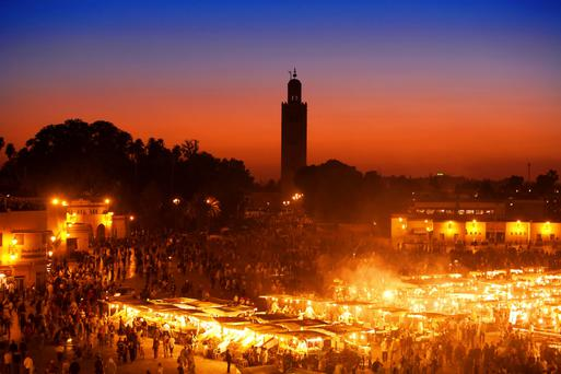 Known as the Red City because of the pinkish-red walls that are to be found everywhere in the municipality, Marrakech is a vibrant mix of art and architecture, old and new