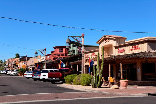 E Main Street, Old Town, Scottsdale. Photo: Deposit