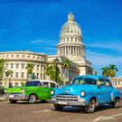 Cuban adventure: American classic car rides around Havana are €25 an hour.