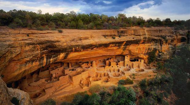 Mesa Verde - would you move your old people and your infant children into a brick terrace clinging precariously to the side of a cliff, hundreds of feet from the canyon floor?