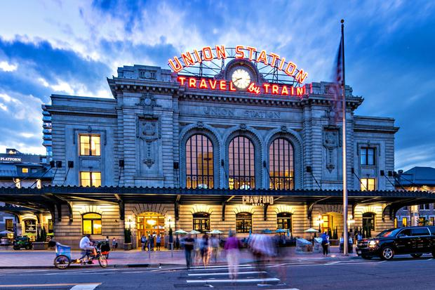 Union Station in downtown Denver, while you'll find one of America's best breakfasts at Snooze diner - and probably some trains too