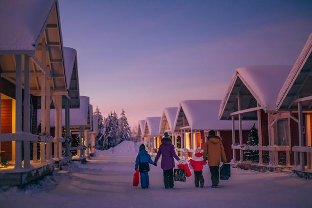 Santa Claus Village. Photo: Visit Rovaniemi