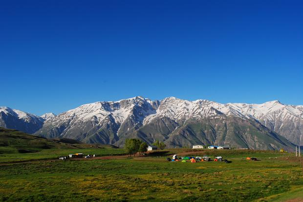 The Alborz Mountains