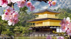 Kinkaku-ji ('Temple of the Golden Pavilion') is one of the most beautiful Zen Buddhist temples in Kyoto