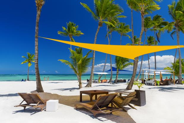 You could be flat out working — on a beach in Barbados