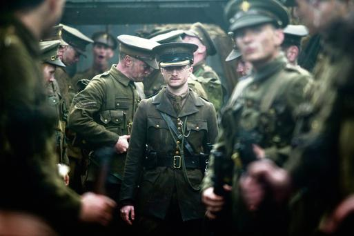 Daniel Radcliffe in 'My Boy Jack' which is based on the true story of Rudyard Kipling's son who went missing in action at the Battle of Loos.