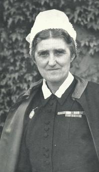 Emily MacManus, the nurse from Co Mayo who spent more than three years near the front. Getty