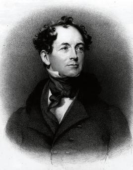 Irish poet Thomas Moore.