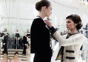 Audrey Tautou as iconic designer Chanel in 'Coco Before Chanel'.