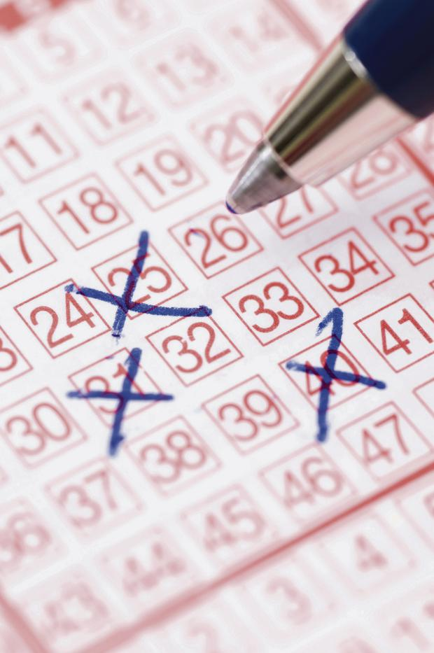 Lotto numbers (Stock photo)