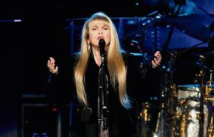 Stevie Nicks, the iconic voice of the band