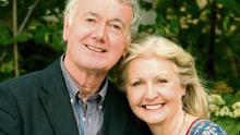 Bryan Murray and Una Crawford O'Brien for Bondings.  Photo: Tony Gavin 13/6/2013